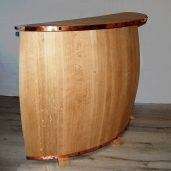 Bar meuble bois décoration artisanal Bourgogne futstyl