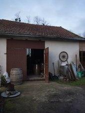 maison, bourgogne, extérieur atelier, artisan, meubles et objets en bois, Futstyl design, bourgogne