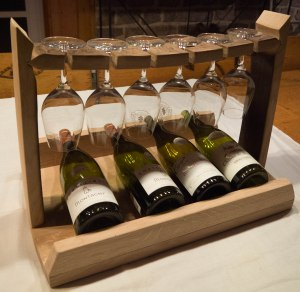 Porte-bouteilles objet bois artisanal décoration bourgogne futstyl