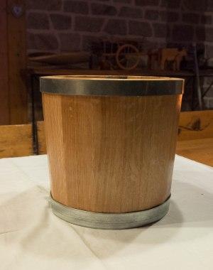 Seau objet bois artisanal décoration bourgogne futstyl