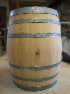 Fût décoratif artisanal bois bourgogne futstyl