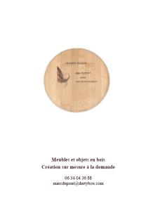 Catalogue meubles et objets en bois, Futstyl design